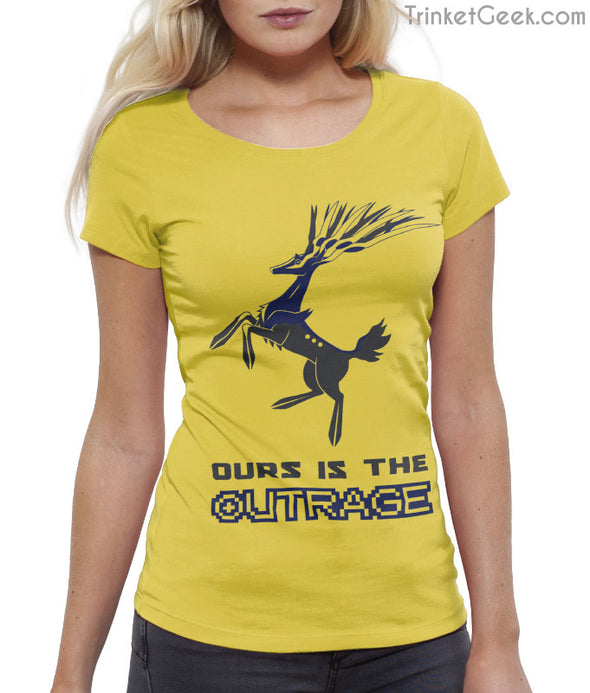 ThroneMonsters Pokemon Game of Thrones House Baratheon Xerneas T-Shirt
