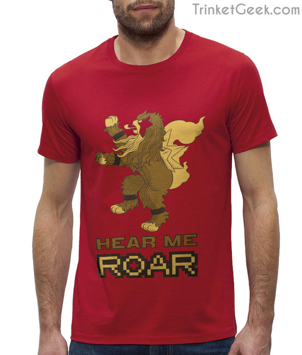 ThroneMonsters Pokemon Game of Thrones House Lannister Entei T-Shirt