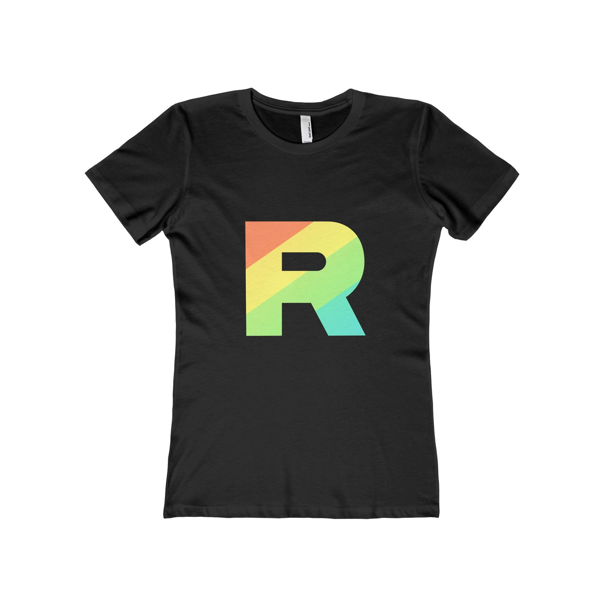 e28c7ebd PKMN Women's Fitted Team Rainbow Rocket T-Shirt. Team Rainbow Rocket  pokemon shirt