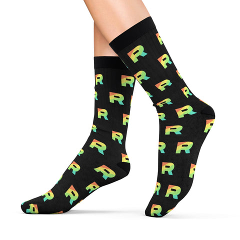 Pokemon Team Rainbow Rocket Socks