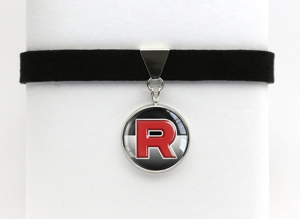 Pokemon Team Rocket Choker Necklace