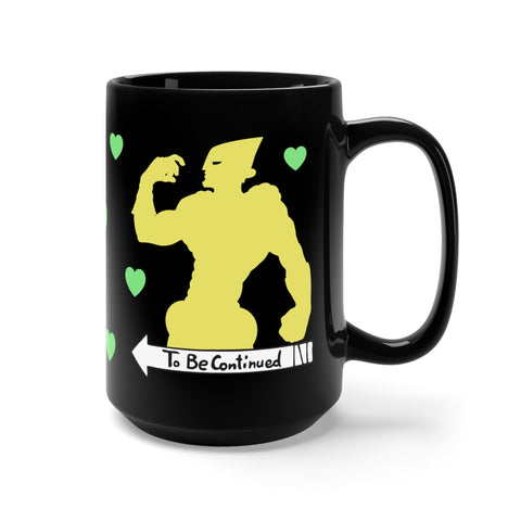 Dio The World anime Jojo mug