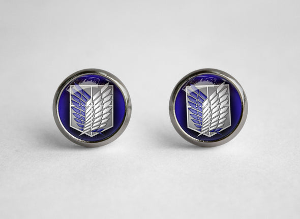 Attack on Titan Shingeki no Kyojin SNK earrings Survey Core