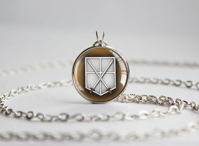 Attack on Titan Shingeki no Kyojin pendant SNK Trainee Squad