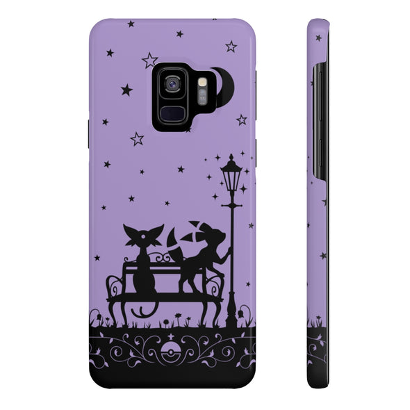 PKMN Eeveelution Starry Night Phone Case PURPLE