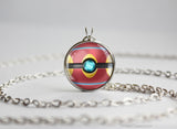 Pkmn Legendary Pokeball pendants