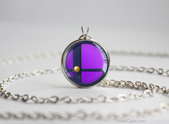 Waluigi Smash Ball necklace
