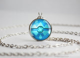 Water Type Pokemon Necklace Themed Pokeball pendants