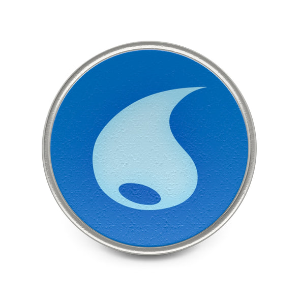 Water Type Symbol Pokemon Badge Pin