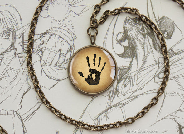 The Darkbrotherhood Mysterious Note We know Pendant Necklace Bronze