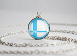 Super Smash Ball Wii Fit Trainer necklace