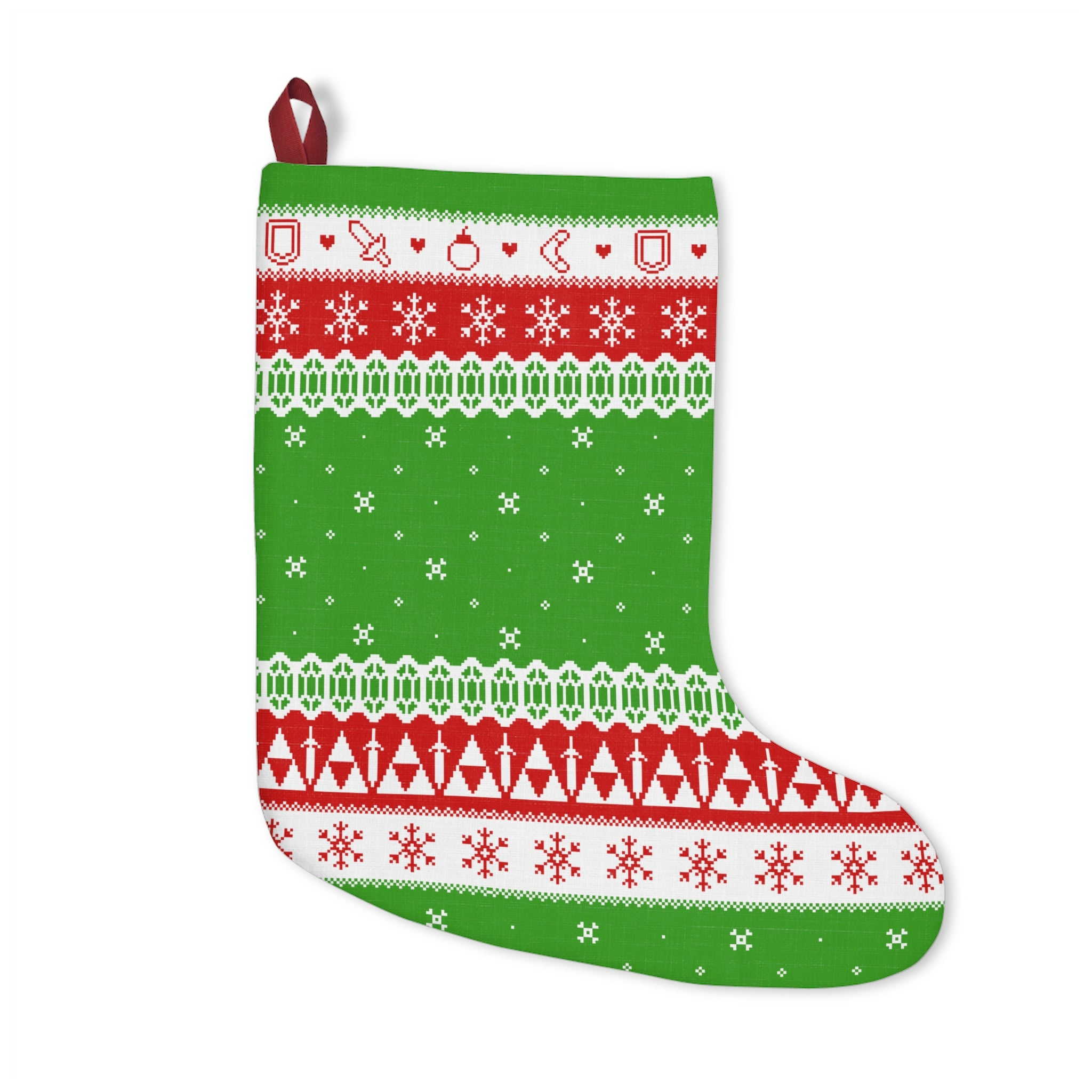 Zelda Christmas Sweater Christmas Stocking – Trinket Geek