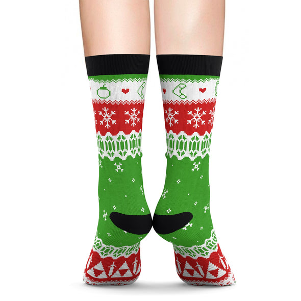 Zelda Christmas Sweater Socks