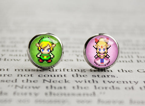 Zelda earrings link princess