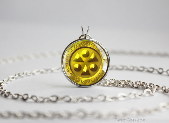 Zelda Light Medallion Necklace