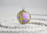 Super Smash Ball Zelda necklace