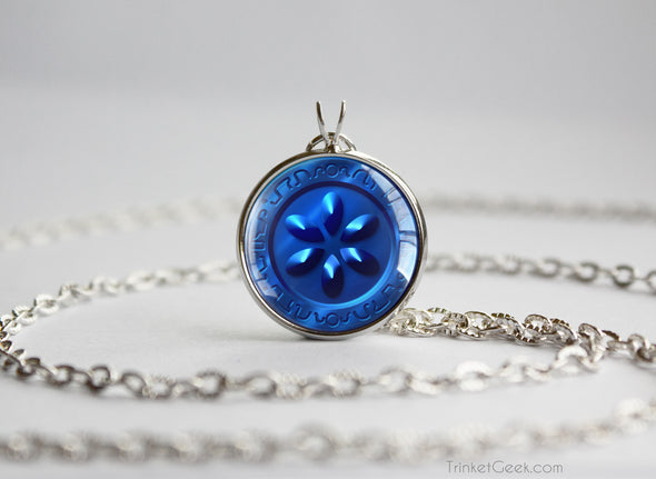 Zelda Water Medallion Necklace
