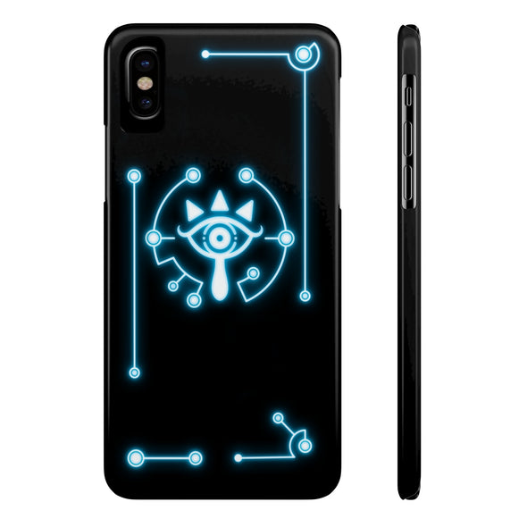 zelda sheikah eye iPhone X case