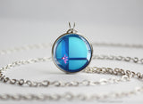 Super Smash Ball Zero Suit Samus necklace