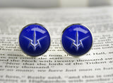 Code Geass Order of the Black Knights emblem Cufflinks