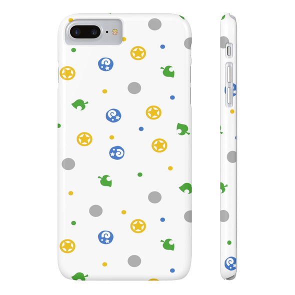 AC Pocket Camp Items Pattern Phone Case