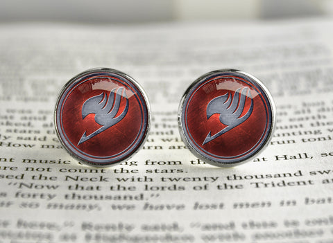 Fairy Tail guild emblem Cufflinks
