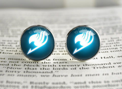 Fairy Tail glowing guild emblem Cufflinks