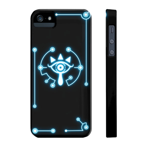 zelda sheikah eye iPhone 5 case
