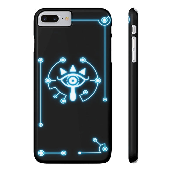 zelda sheikah eye iPhone 8 case