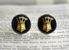Dark Souls helm Cufflinks The Embraced Knight Lautrec of Carim