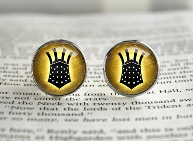 Dark Souls symbol Cufflinks The Embraced Knight Lautrec of Carim