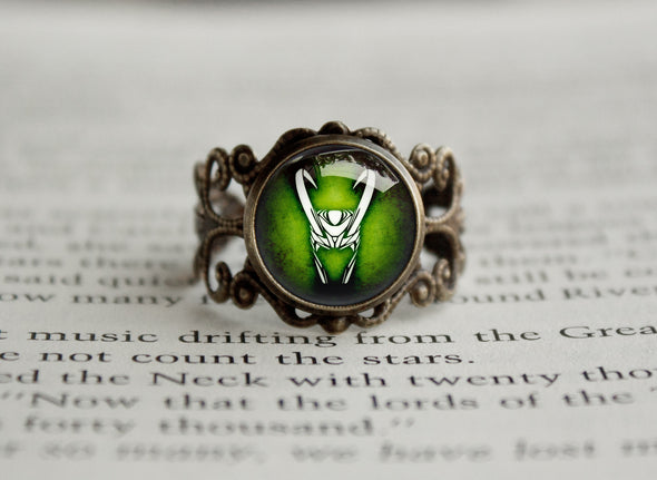 Loki god of mischief ring
