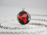 Naruto pendant Naka Uchiha Sharingan necklace