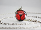 Naruto pendant Naori Uchiha Sharingan necklace