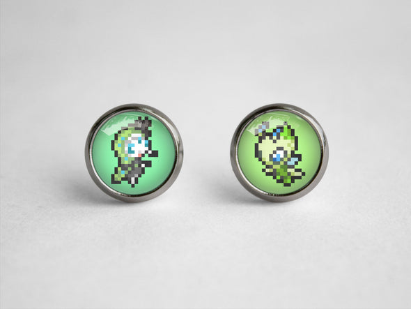 Pkmn Sprite earrings Custom sprites of choice