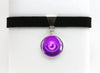 Psychic Type Symbol Pokemon Choker Necklaces