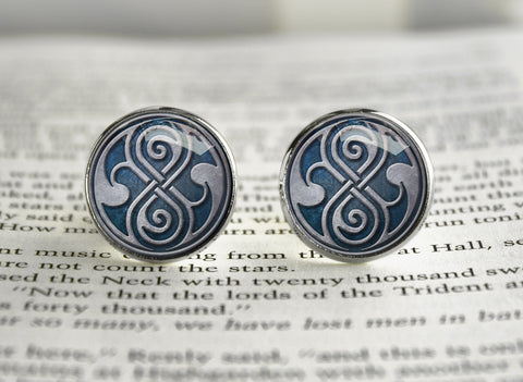 Doctor Cufflinks Seal of Rassilon