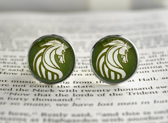 LOTR Cufflinks Crest of Rohan