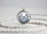 Pokemon pendant necklace steel type symbol