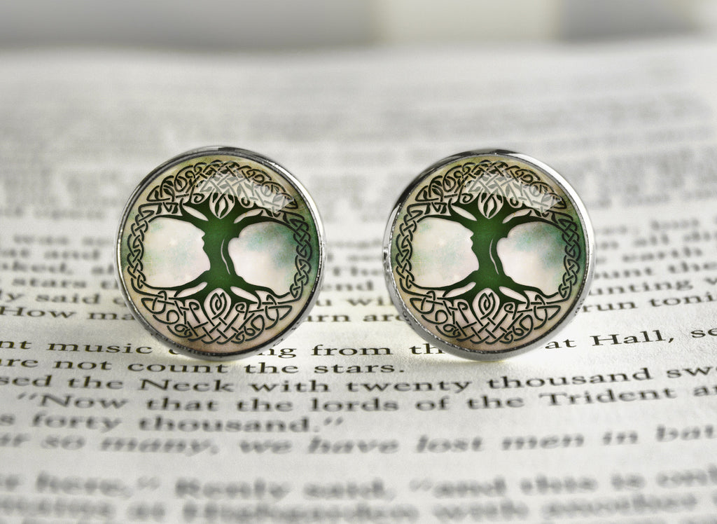 Tree of Life Cufflinks