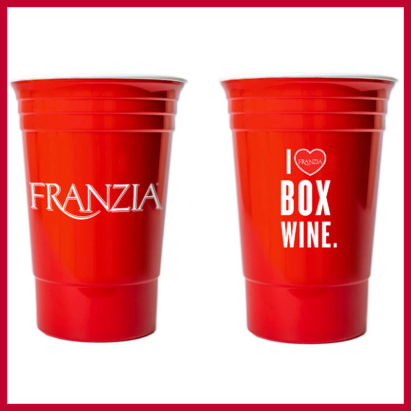 Franzia Red Party Cup
