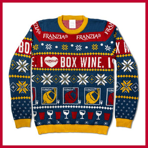 I Heart Box Wine Sweater