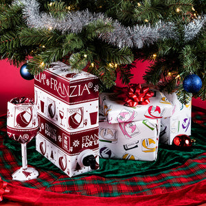 Franzia Holiday Wrapping Paper Packet