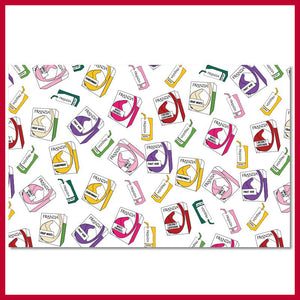Franzia Box Celebration Wrapping Paper Packet