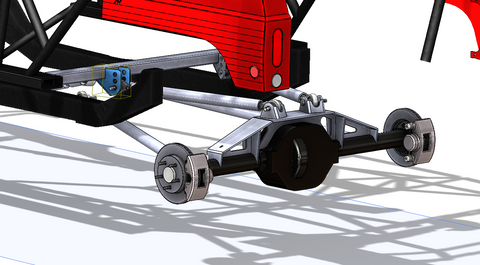 CAD Design for a customers XJ 4-Link Project
