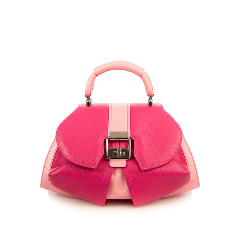Art Deco Inspired Modern Extravaganza bag in passion pink