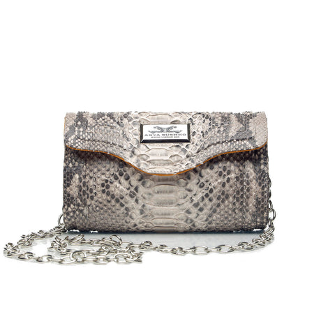 Luxury Severina Cream Diamond Handbag