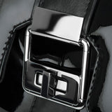 Art Deco Inspired Modern Extravaganza bag in black patent lock details