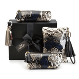 Exotic Purses in Camelot Python Leather