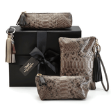 Luxury Handbags London in Brown Exotic Skin